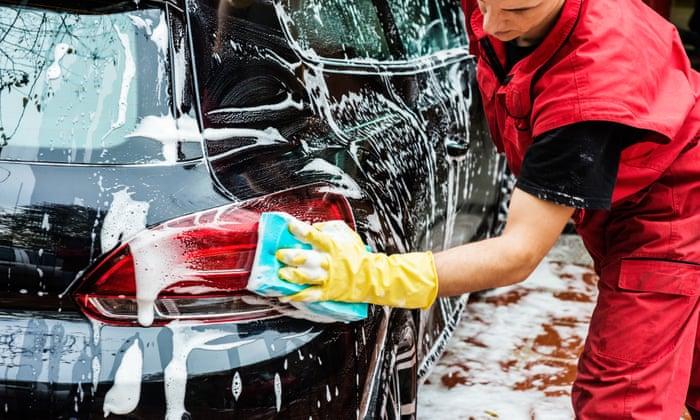 Uber for car wash