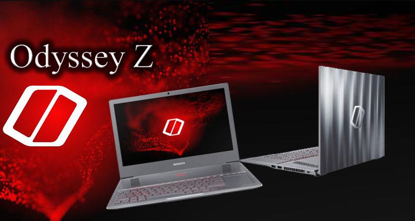 odyssey z laptop