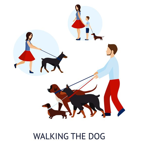 Dog Walkers On-Demand