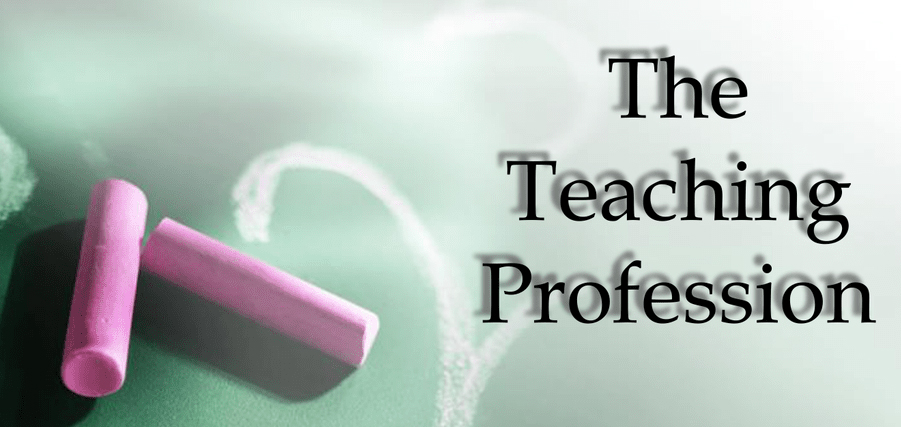 teaching profession in 2020