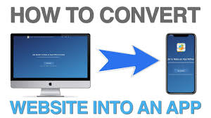 convert website to mobile