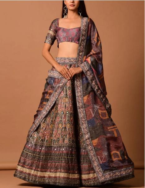 designer bridal wedding lehenga choli